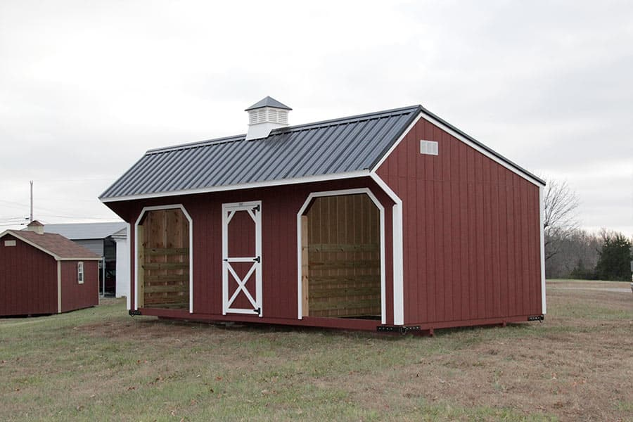 Horse Run In Shed and Chicken Coop Designs | Animal Shelters in KY, TN