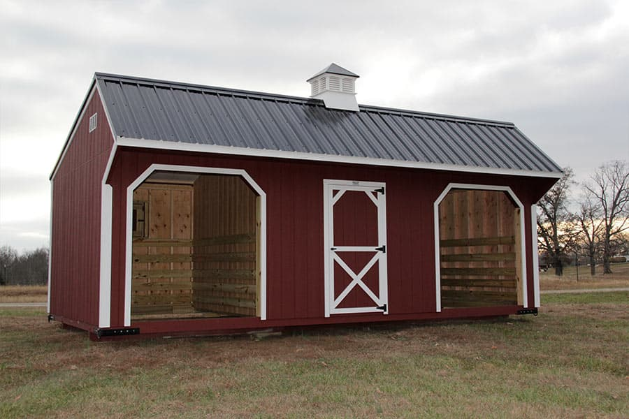Horse Run In Shed And Chicken Coop Designs Animal Shelters In Ky Tn