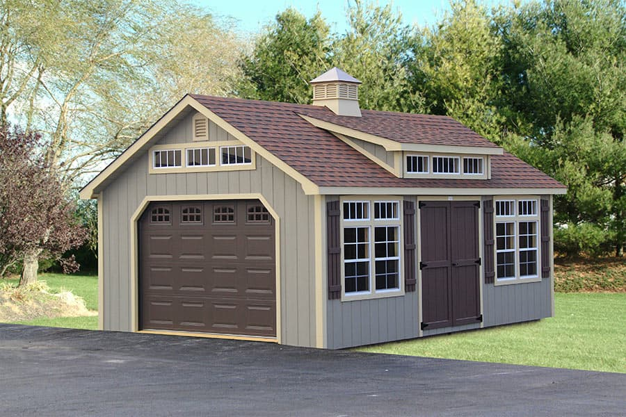 Backyard shed designs in ky tn photo gallery of the for Outside buildings design