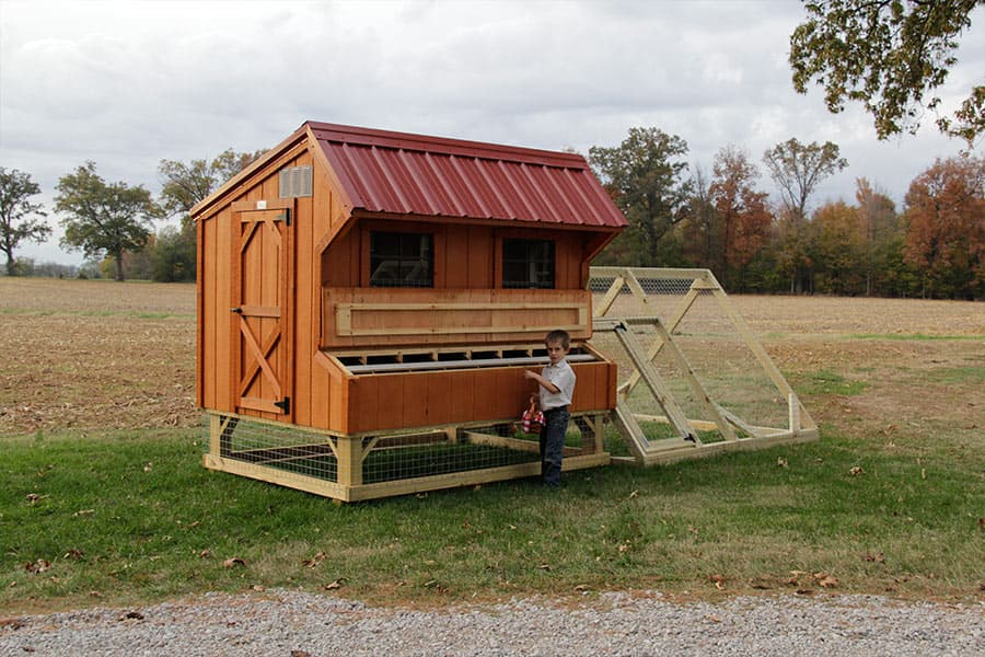 Horse Run In Shed And Chicken Coop Designs In Ky Amp Tn
