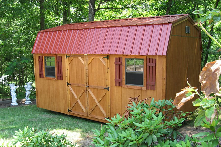 storage shed ideas in kentucky