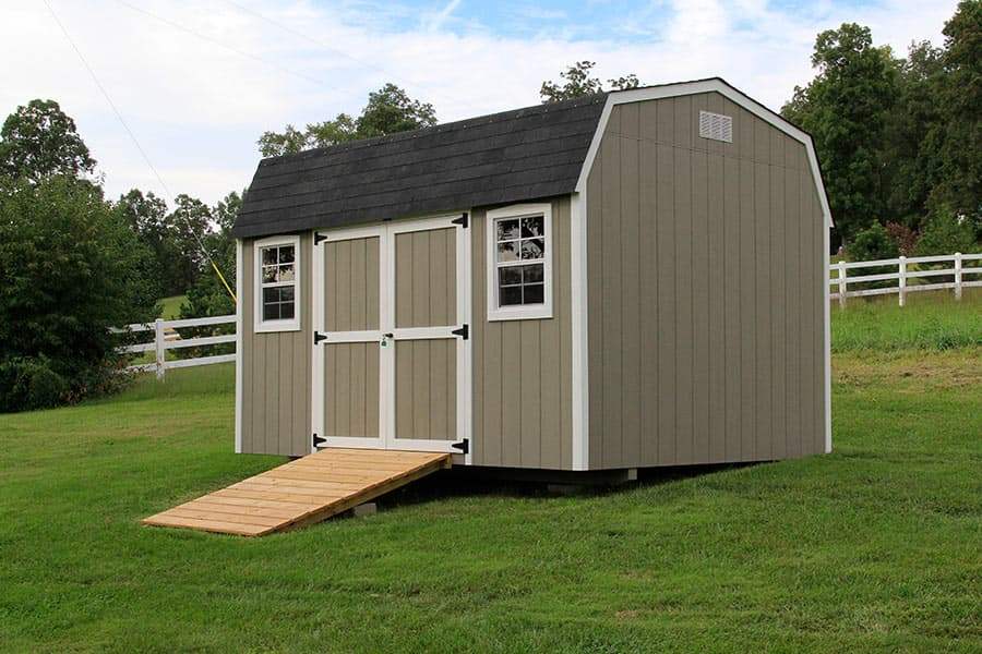 Storage sheds ideas photos for Luxury garden sheds