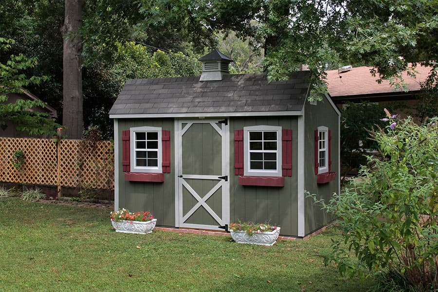 storage shed ideas in ky